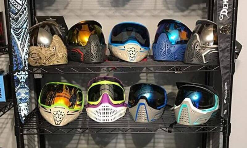 How to clean a paintball mask